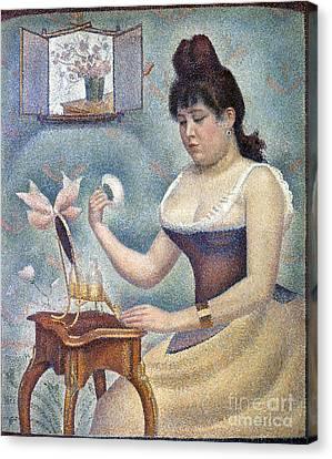 Seurat: Knobloch, 1889-90 Canvas Print by Granger