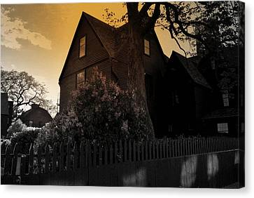 Canvas Print featuring the photograph Seven Gables by Laura DAddona