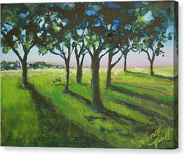 Seven Trees Canvas Print by Michele Hollister - for Nancy Asbell