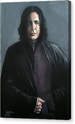 Severus Snape Canvas Print by Tom Carlton
