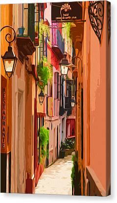 Seville, Colorful Spain Canvas Print