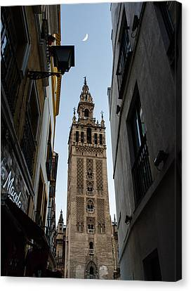 Seville Giralda - One Thousand And One Nights  Canvas Print by Andrea Mazzocchetti