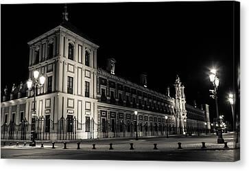 Seville - Palace San Telmo Canvas Print by Andrea Mazzocchetti