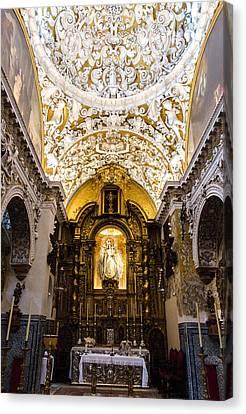 Seville - Santa Maria La Blanca Canvas Print by Andrea Mazzocchetti