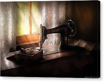 Mothersday Canvas Print - Sewing Machine -  Singer II  by Mike Savad