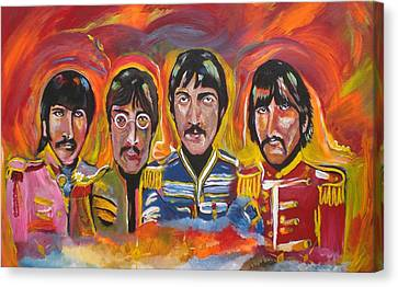 Sgt Pepper Canvas Print by Colin O neill