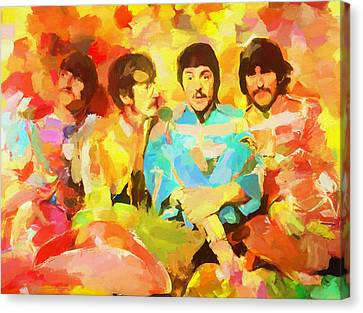 Sgt. Peppers Lonely Hearts Canvas Print by Dan Sproul