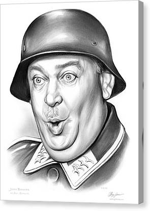 Sgt Schultz Canvas Print by Greg Joens