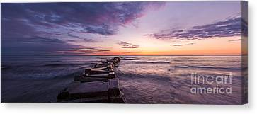 Shade Of Morning Canvas Print by Andrew Slater