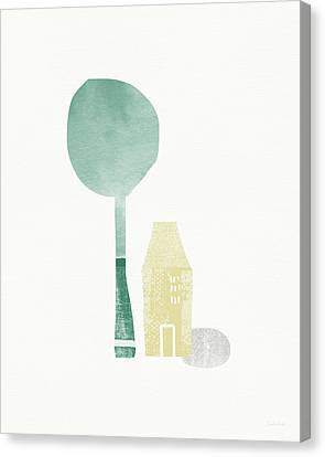 Shade Tree- Art By Linda Woods Canvas Print