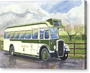 Shades Of Lincoln Green Canvas Print by John Kinsley