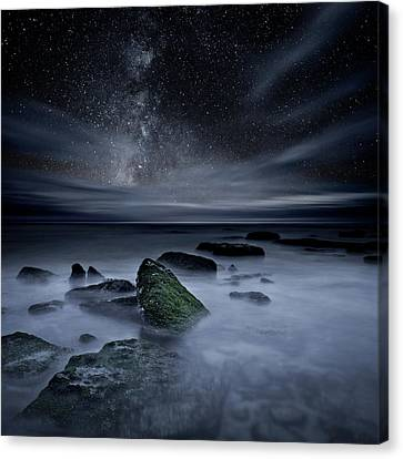 Canvas Print featuring the photograph Shades Of Yesterday by Jorge Maia