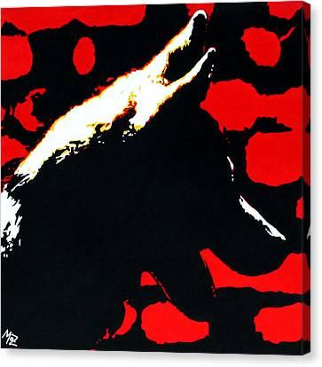 Shadow Canvas Print by Maz
