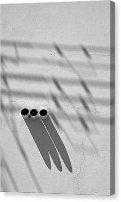 Shadow Notes 2006 1 0f 1 Canvas Print