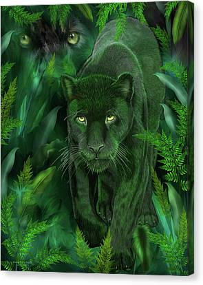 Shadow Of The Panther Canvas Print