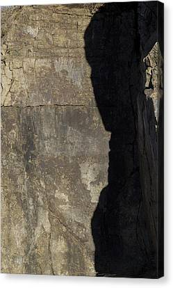 Shadow On The Stone Canvas Print