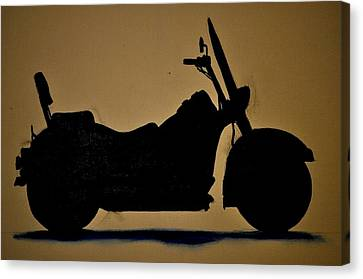 Shadow Rider Canvas Print