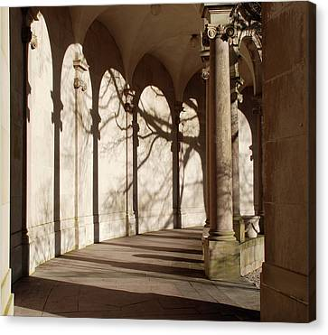 Canvas Print featuring the photograph Shadows And Curves by Richard Bryce and Family
