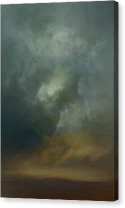 Shadows In The Dust Canvas Print by Lonnie Christopher