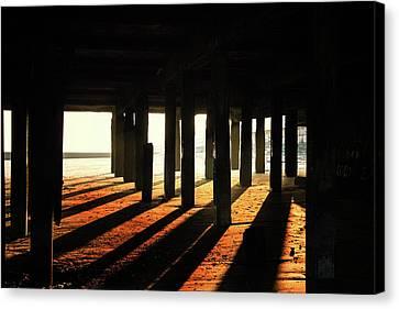 Shadows Canvas Print by Martin Newman