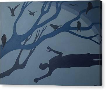 Shadows Move Among Us Canvas Print
