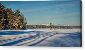 Shadows On The Lake Canvas Print by Darylann Leonard Photography