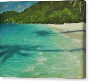 Shadows Over Magens Bay By Alan Zawacki Canvas Print