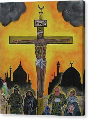 Shahid Or Martyr Canvas Print by Darren Stein