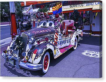 Shakes Automobile Canvas Print by Garry Gay