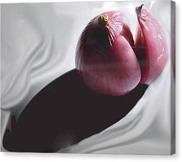 Shallot And Shadow Canvas Print
