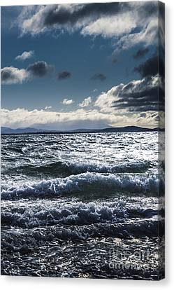 Shallows And Depths Of Adventure Bay Canvas Print