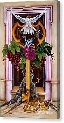 Canvas Print - Shama by Ilse Kleyn