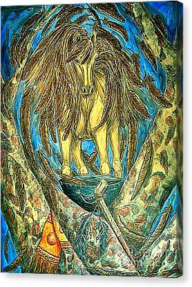 Shaman Spirit Canvas Print