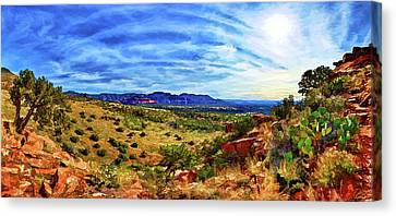 Shaman's Dome Trail Canvas Print by ABeautifulSky Photography
