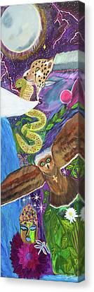 Shamans Totem Canvas Print