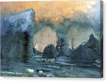Shambala Canvas Print by Ed Hall