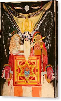 Shambala Overlord Canvas Print