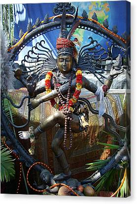 Shambu Canvas Print by John Loyd Rushing