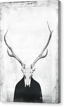 Shame Canvas Print by Jacky Gerritsen