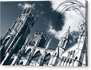 Canvas Print featuring the photograph Shame To Be Atheist  by Stewart Scott