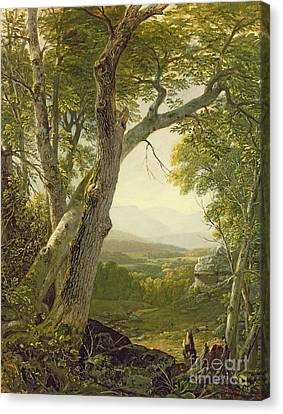 Shandaken Ridge - Kingston Canvas Print by Asher Brown Durand