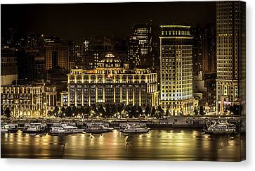 Shanghai Nights Canvas Print