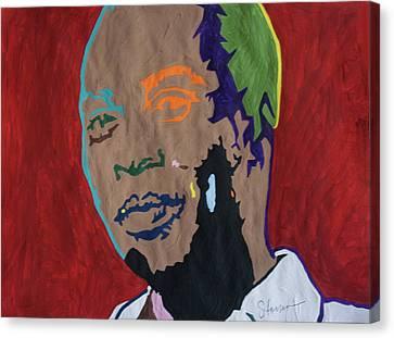Shango Fela Canvas Print by Stormm Bradshaw