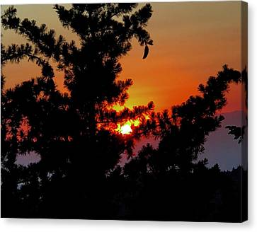 Shangrila Sunset Canvas Print by Jack Eadon