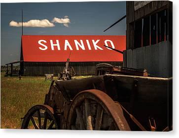 Shaniko Oregon Canvas Print by Marnie Patchett