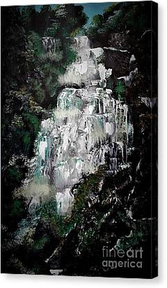 Shannon Falls Canvas Print