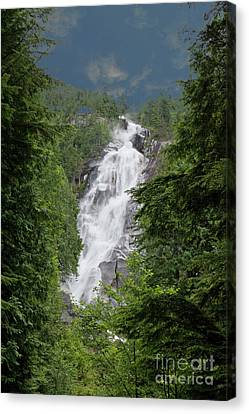 Canvas Print featuring the photograph Shannon Falls by Rod Wiens
