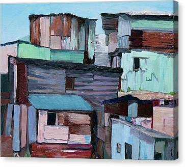 Shanties Canvas Print
