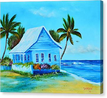 Shanty In Jamaica Canvas Print