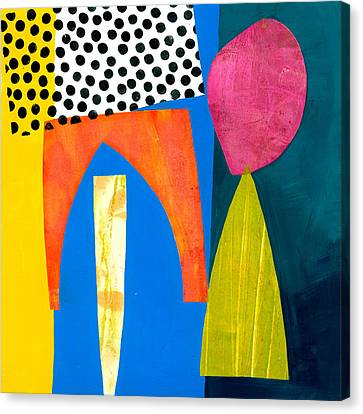 Shapes 2 Canvas Print by Jane Davies